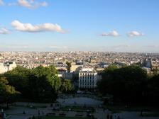 Париж, вид с Монмартра