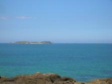 Сен-Мало вид на море