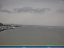 Сена при впадении в Атлантику
