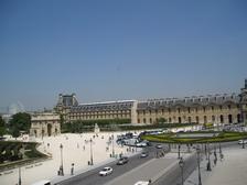 Вид с Лувра